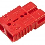 Red Quick-Disconnect Connector, 1 Piece